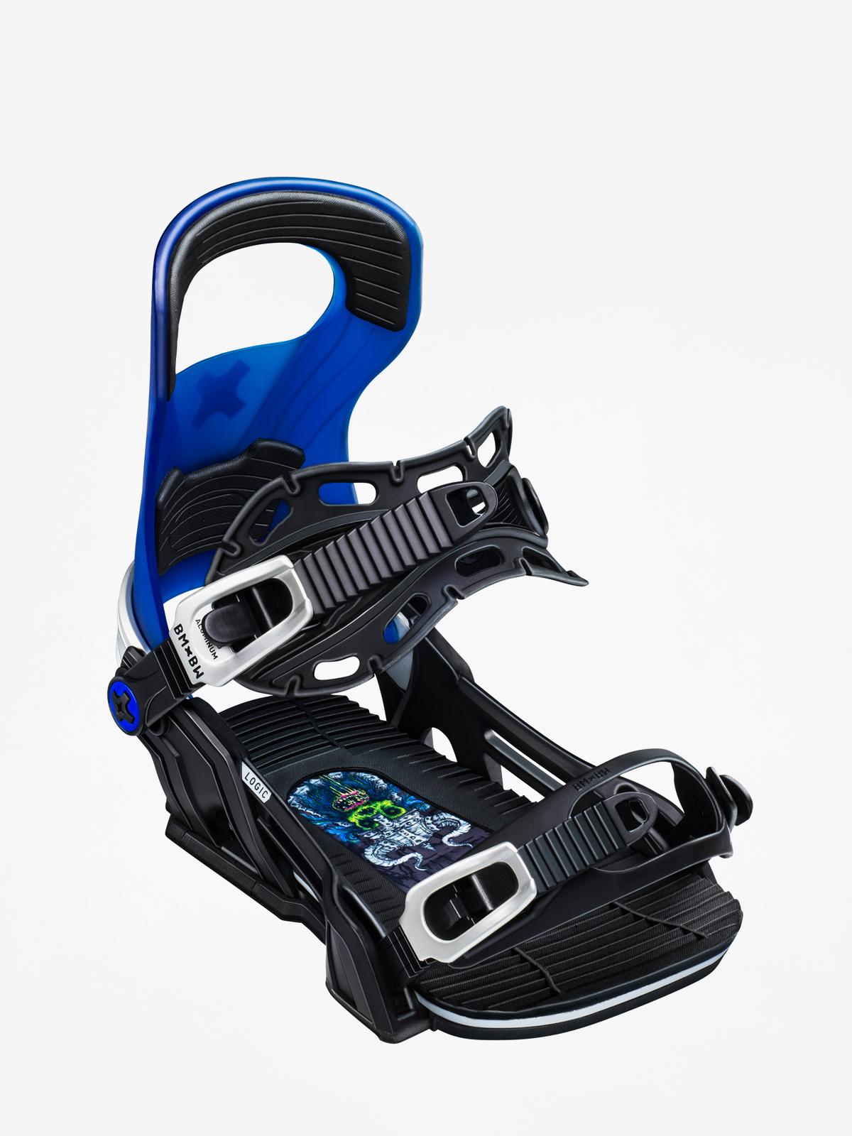 Wiu0105zania snowboardowe Bent Metal Logic (blue)