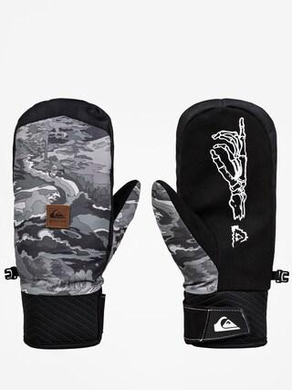 Rękawice Quiksilver Method Mitt (black snowscene)