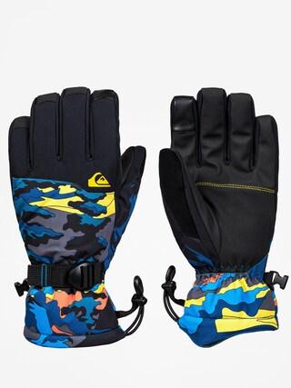 Ru0119kawice Quiksilver Mission Glove (sulphur snowscene)