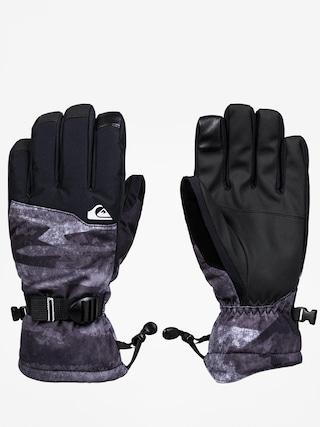 Ru0119kawice Quiksilver Mission Glove (black mat paint)