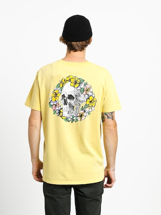 T-shirt Quiksilver Og Dead Flowers (yellow iris)