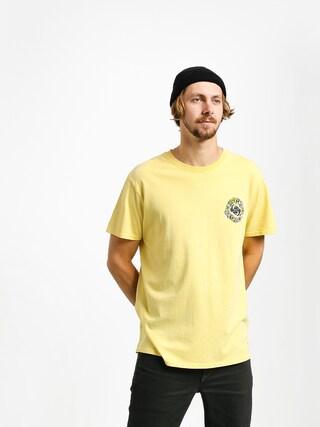 T-shirt Quiksilver Og Dead Flowers (yellow iris)