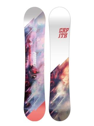 Deska snowboardowa Capita Paradise Wmn (white/black/red)