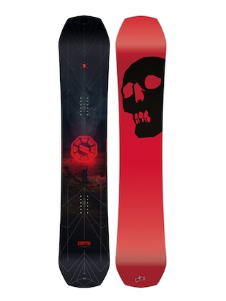 Deska snowboardowa Capita The Black Snowboard Of Death (red/black)