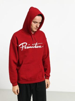 Bluza z kapturem Primitive Nuevo HD (red)
