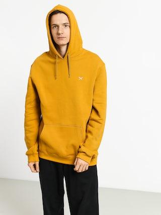 Bluza z kapturem Iriedaily Mini Flag HD (mustard)