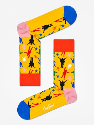 Skarpetki Happy Socks The Beatles (yellow/red/blue)