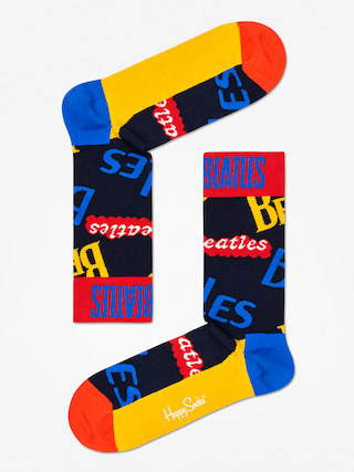 Skarpetki Happy Socks The Beatles (dark navy/yellow/red)