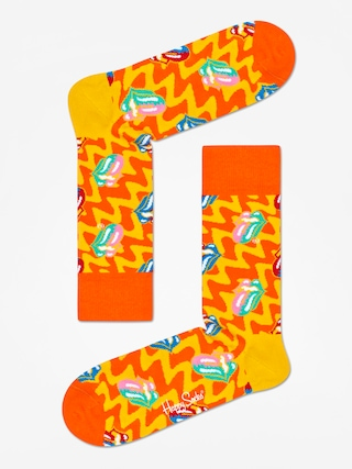 Skarpetki Happy Socks Rolling Stones (orange/yellow)