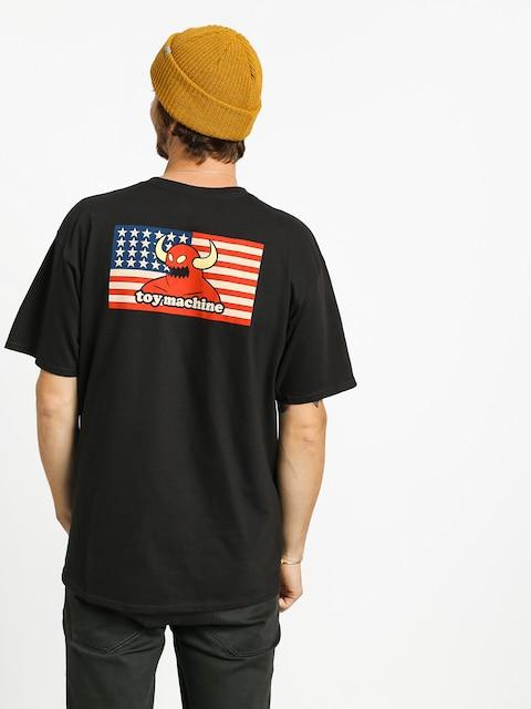 T-shirt Toy Machine American Monster (black)