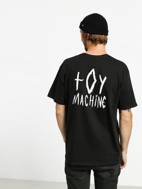 T-shirt Toy Machine Sketchy Monster (black)
