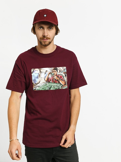 T-shirt DGK Talkin (burgundy)