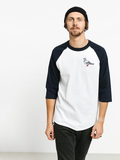 T-shirt Antihero Lil Pigeon 3/4 Raglan (white/navy)
