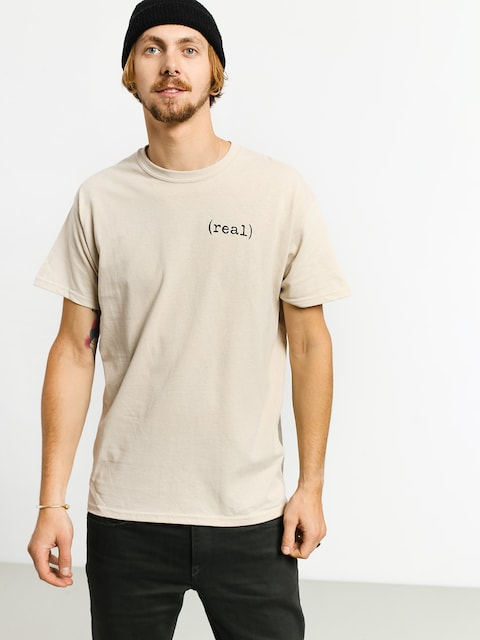 T-shirt Real Real Lower (beige)