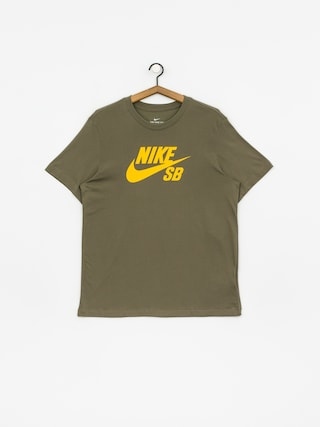 T-shirt Nike SB Sb Dri Fit (medium olive/dark sulfur)