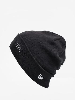 Czapka zimowa New Era Nyc Cuff Knit (black/optic white)