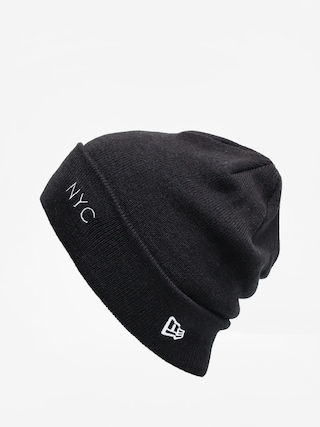 Czapka zimowa New Era Nyc Cuff Knit (black/optic white)