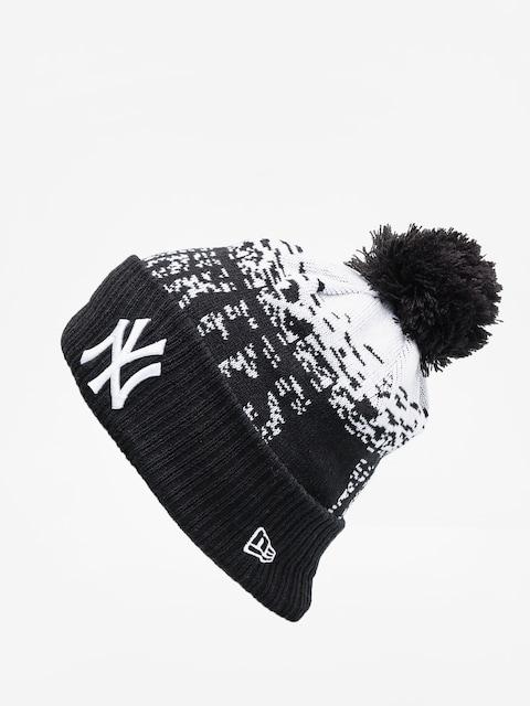 Czapka zimowa New Era Mlb Sport Knit (black/optic white)
