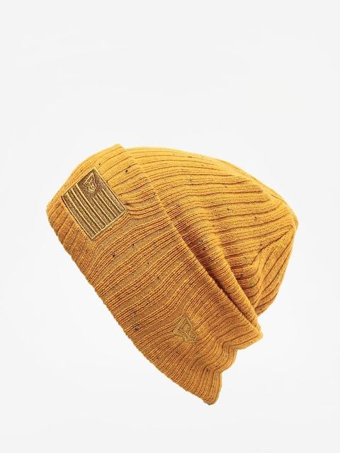 Czapka zimowa New Era Skull Knit (yellow)