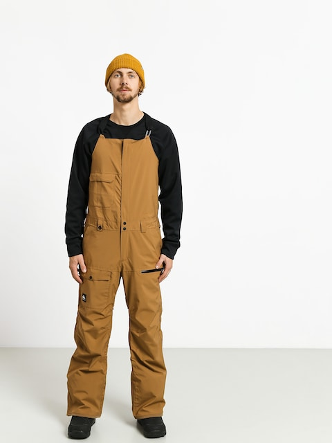 Spodnie snowboardowe Quiksilver Utility Bib (otter)