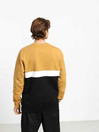 Bluza Elade Colour Block (beige/white/black)