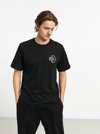 T-shirt Converse Cartoon Chuck (black)