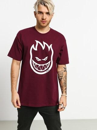 T-shirt Spitfire Big Head (burgundy)