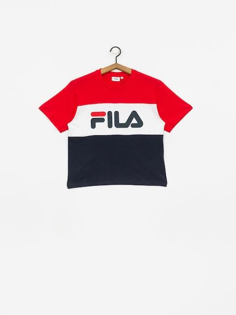T-shirt Fila Allison Wmn (black iris/bright white/true red)