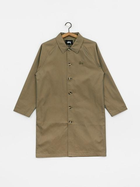 Płaszcz Stussy Uptown Iridescent Mac Wmn (khaki)