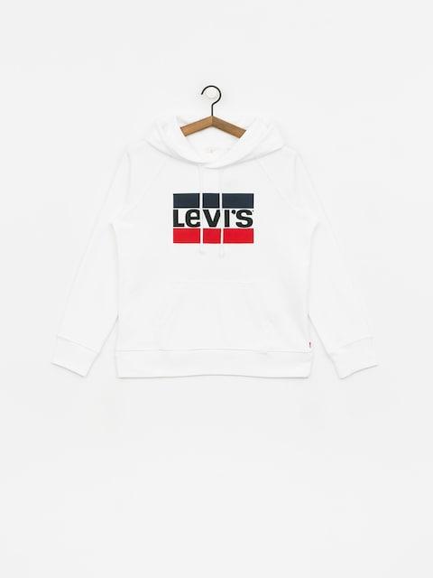 Bluza z kapturem Levi's Graphic Sport HD Wmn (marshmallow)