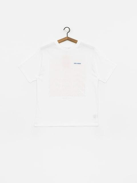 T-shirt Local Heroes High High High (white)