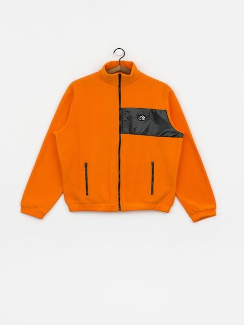 Polar Local Heroes Orange Fleece Zip Wmn (orange)