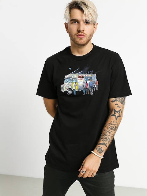 T-shirt DGK Munchies (black)