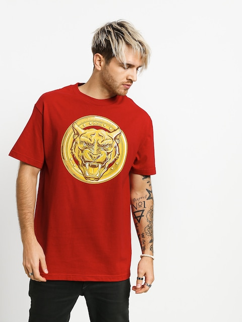 T-shirt DGK Always On Top (cardinal)