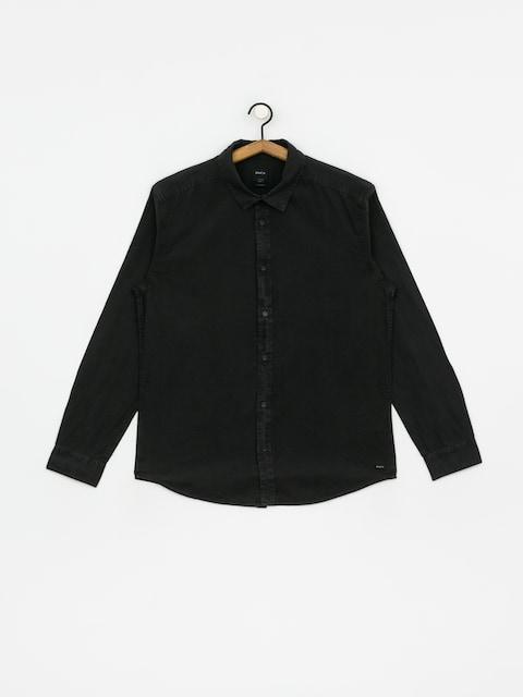 Koszula RVCA Crushed Ls (pirate black)