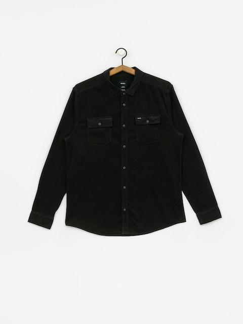 Koszula RVCA Freeman Cord Ls (pirate black)