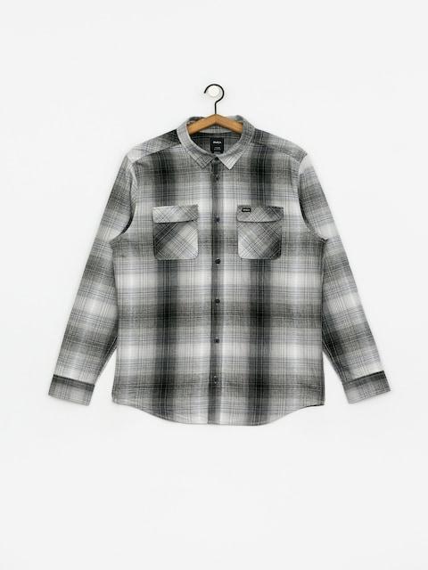 Koszula RVCA Muir Flannel Ls (black/white)