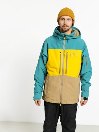 Kurtka snowboardowa Burton Ak Gore Swash (gbslat/maize/kelp)