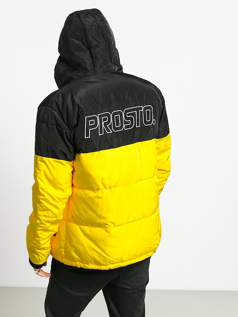 Kurtka Prosto Winter Adament (black/yellow)