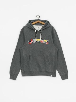 Bluza z kapturem Element Rainbow HD (mid grey htr)