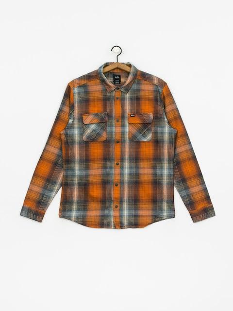 Koszula RVCA Muir Flannel Ls (rust orange)