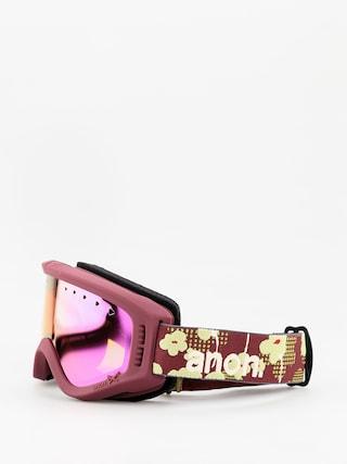 Gogle Anon Tracker (flower/pink amber)
