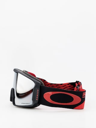Gogle Oakley Line Miner (harlaut sig shredbot red black/prizm snow black iridium)