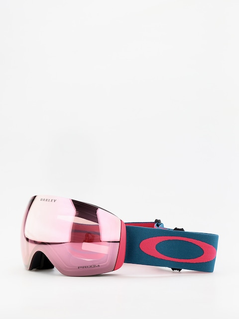 Gogle Oakley Flight Deck (blue/prizm snow hi pink iridium)