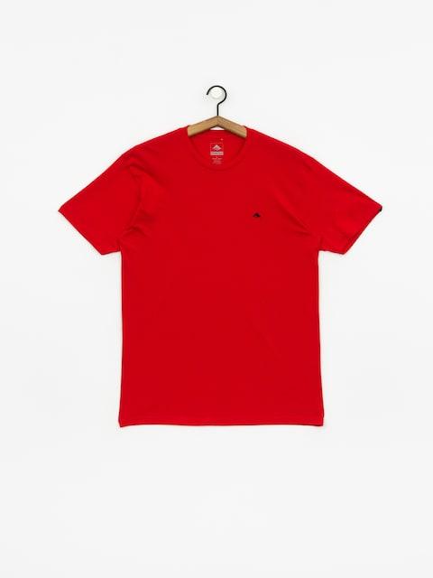 T-shirt Emerica Triangle Staple (red)
