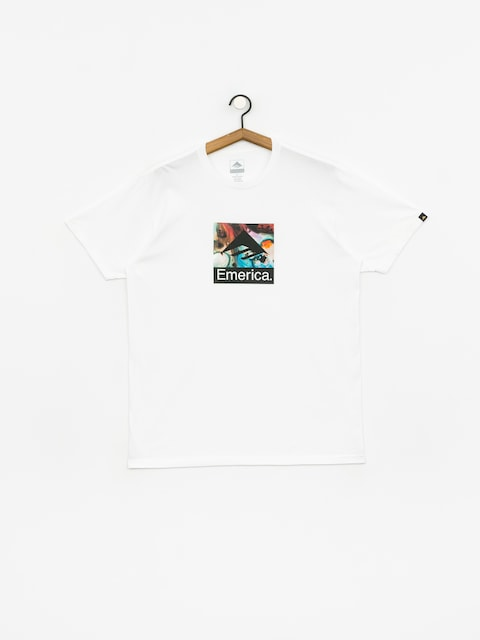 T-shirt Emerica White Acid Drop