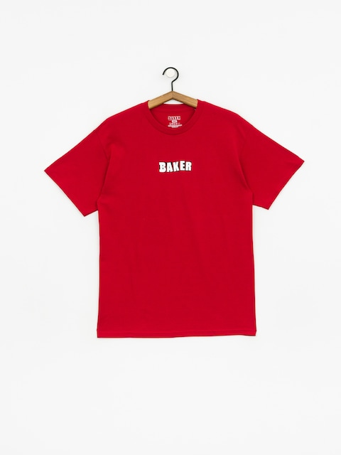 T-shirt Baker Brand Logo (cardinal)