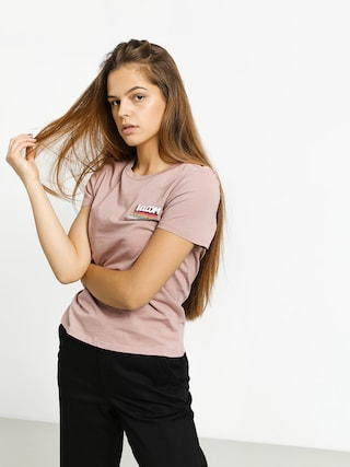 T-shirt Volcom Stoked On Stone Wmn (faded mauve)