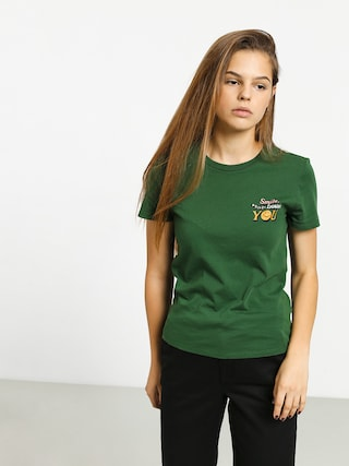 T-shirt Volcom Stoked On Stone Wmn (green)