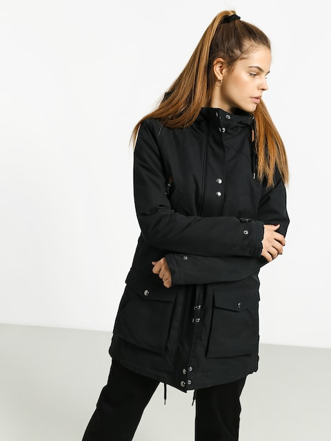 Kurtka Volcom Walk On By 5K Parka Wmn (black)